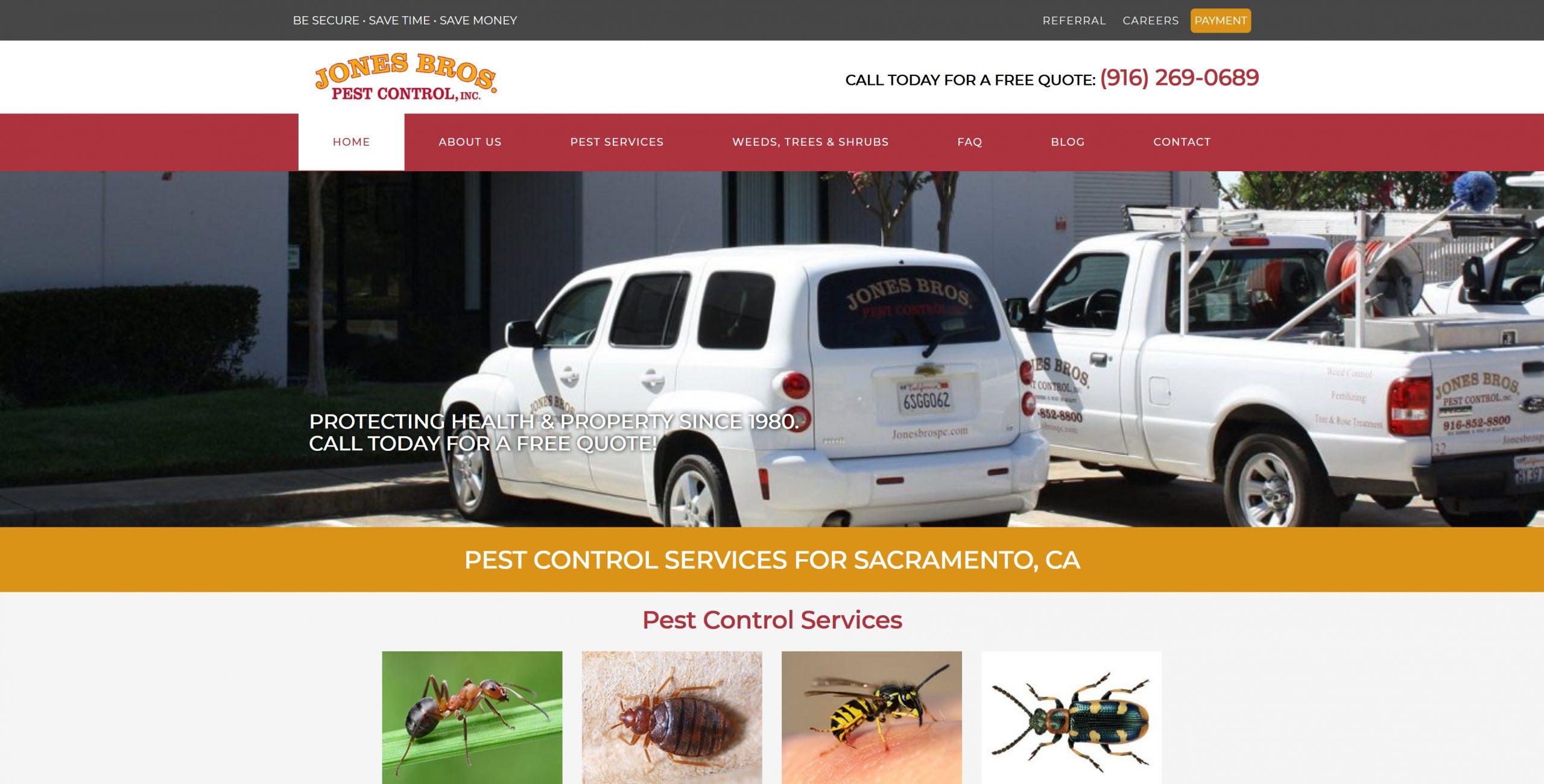Jones Bros Pest Control, Inc.